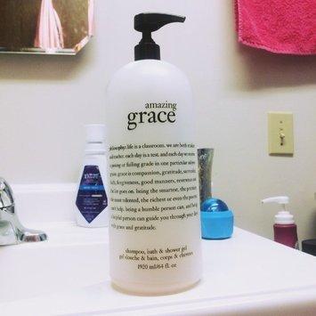 philosophy amazing grace shampoo bath amp shower gel philosophy shampoo bath amp shower gel 64 fl oz mega size