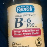 Rexall Vitamin B6 100 mg - Tablets, 100 ct uploaded by Nikki J.
