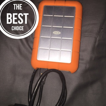 LaCie USB 3.0 1TB Rugged Mini Hard Drive uploaded by Tyler K.