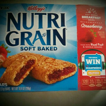 Kellogg's Nutri-Grain Strawberry Cereal Bars uploaded by Adeline P.