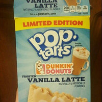 Pop-Tarts Dunkin' Donuts' Frosted Vanilla Latte Toaster Pastries uploaded by Nayarith S.