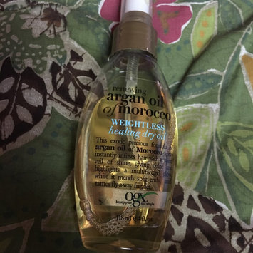 OGX Organix Moroccan Argan Oil Weightless Healing Oil 4 oz. uploaded by Gineen H.