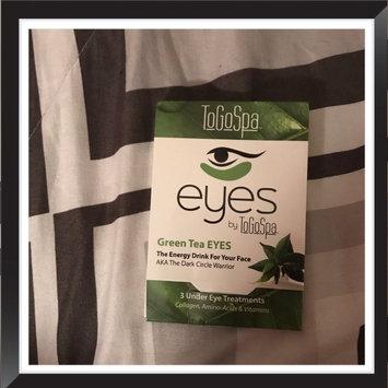Photo of ToGoSpa Green Tea - Rejuvenating Eye Pads 3 piece uploaded by Brandie S.