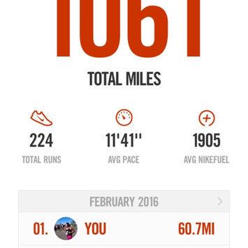 Photo of Nike Running App uploaded by Rosie R.