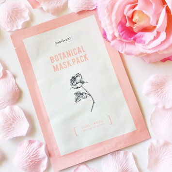 BONVIVANT Rose Botanical Mask Pack uploaded by Vanna L.