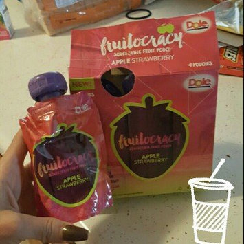 Photo of Dole Fruit Squish'ems! Squeezable Fruit Pouch Apple Strawberry  - 4 CT uploaded by Angelina A.