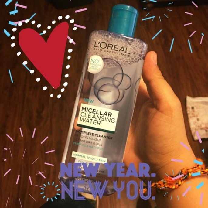 L'Oreal Paris Micellar Cleansing Water for Normal to Oily Skin 13.5 fl. oz. Bottle uploaded by Natalia C.