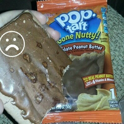 Kellogg's Pop-Tarts Gone Nutty Frosted Chocolate Peanut Butter uploaded by Pam L.
