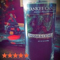 Yankee Candle Balsam & Cedar 20oz Jar Candle, Green uploaded by Riley R.