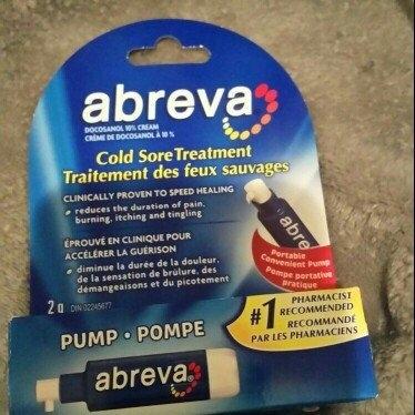 Abreva Docosanol 10% Cream Cold Sore Treatment uploaded by Ana L.
