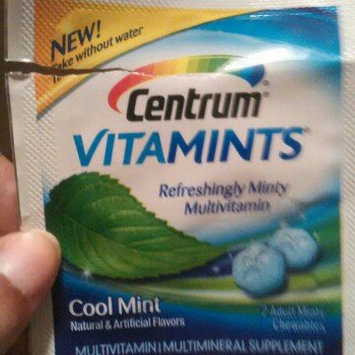Centrum® VitaMints® Cool Mint Adult Minty Chewables 2 ct Packet uploaded by Whitney G.