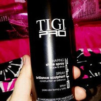 TIGI PRO Shaping Shine Spray High Gloss Finish Flexible Hold Hairspray 10 oz uploaded by Jennifer P.
