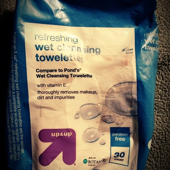 up & up Makeup Remover Cleansing Towelettes uploaded by Hannah R.
