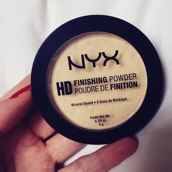 NYX HD Finishing Powder Banana uploaded by Baylee V.