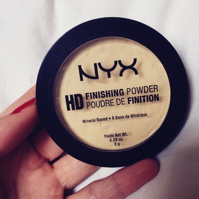 NYX HD Finishing Powder Banana uploaded by Baylee V.