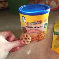 Gerber Graduates Waffle Wheels Puffed Grain Snack uploaded by Nancy C.