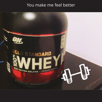 Photo of Optimum Nutrition Gold Standard Natural 100% Whey Protein uploaded by Manuel R.