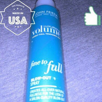 John Frieda Luxurious Volume Fine to Full Blow Out Spray uploaded by Katie D.