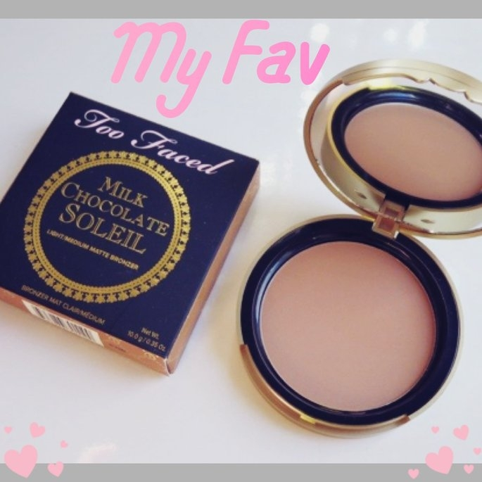Too Faced Chocolate Soleil Bronzing Powder uploaded by jessica M.