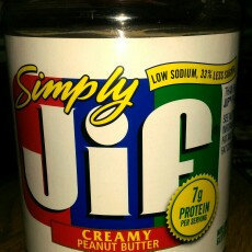 Photo of Simply Jif Peanut Butter Creamy uploaded by Addie D.