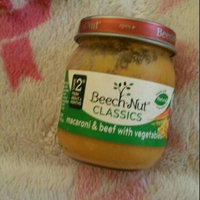Beech-Nut classics macaroni & beef with vegetables jar uploaded by Morenike K.
