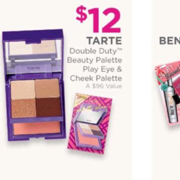 Photo of tarte Double Duty Beauty Day/Night Eye & Cheek Palette uploaded by Lus S.