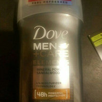 Dove Men+Care Elements Mineral Powder + Sandalwood Deodorant Stick uploaded by Bryon S.