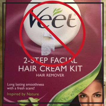 Photo of Veet 2-Step Facial Hair Cream Kit uploaded by mandy s.