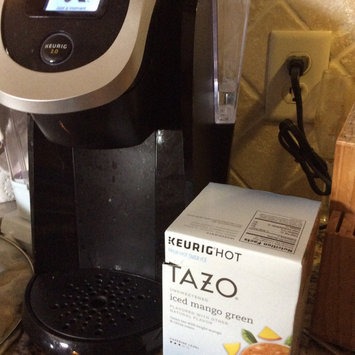 Photo of Tazo® Unsweetened Iced Mango Green Tea 10-0.16 oz. Cups uploaded by Kimberly H.
