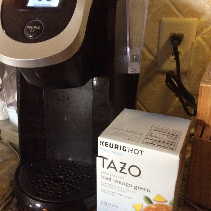 Tazo® Unsweetened Iced Mango Green Tea 10-0.16 oz. Cups uploaded by Kimberly H.