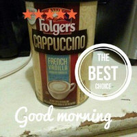 Folgers® Cappuccino French Vanilla Instant Coffee Beverage uploaded by Ruth D.