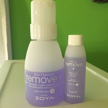 Photo of Zoya Remove Plus Nail Polish Remover uploaded by Anita C.