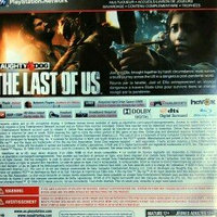 Naughty Dog The Last of Us (Playstation 3) uploaded by Mipsy M.