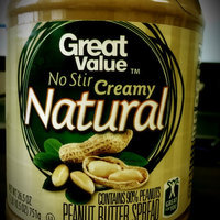 Great Value No Stir Creamy Natural Peanut Butter Spread, 26.5 oz uploaded by Aleyna D.