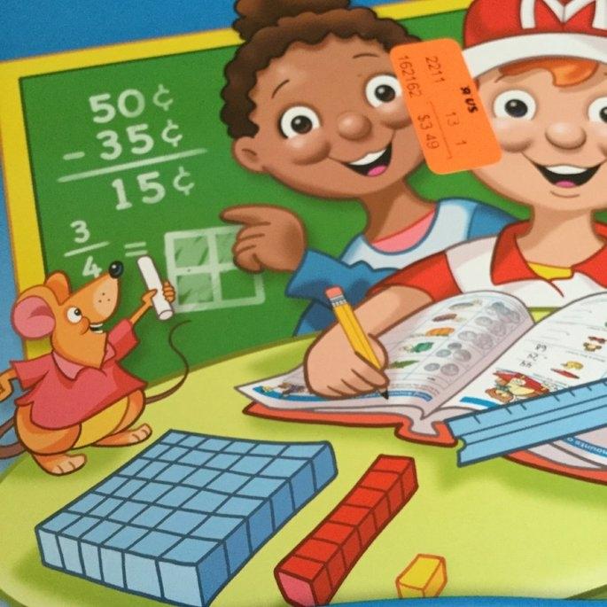 School Zone Time/ Money/ Fractions Workbook uploaded by Kristin W.