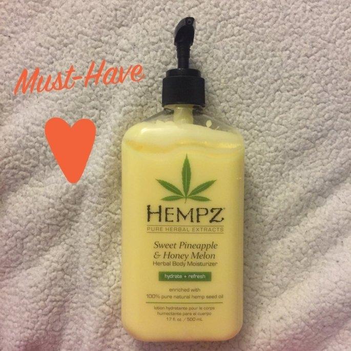 Hempz Sweet Pineapple & Honey Melon Moisturizer uploaded by Andrea C.