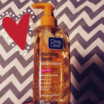 Clean & Clear Morning Burst Oil-Free Facial Cleanser uploaded by Cybil L.