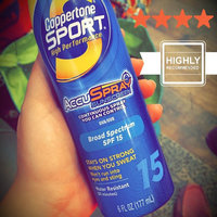 Coppertone Sport High Performance Sunblock Spray uploaded by Kasey G.