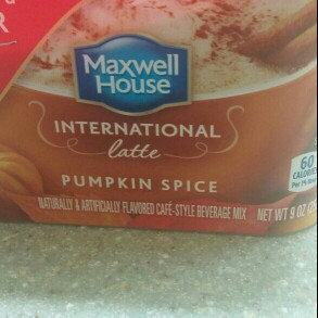 Photo of Maxwell House International Pumpkin Spice Latte 9 oz uploaded by Fanty M.
