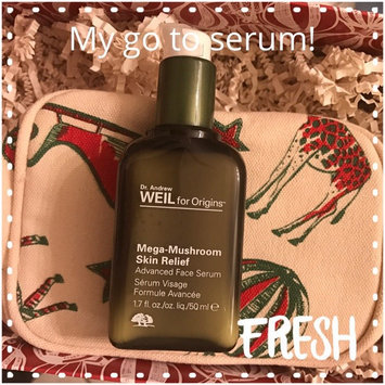 Photo of Origins Dr. Andrew Weil for Origins™ Mega-Mushroom Relief & Resilience Advanced Face Serum uploaded by Vanessa H.
