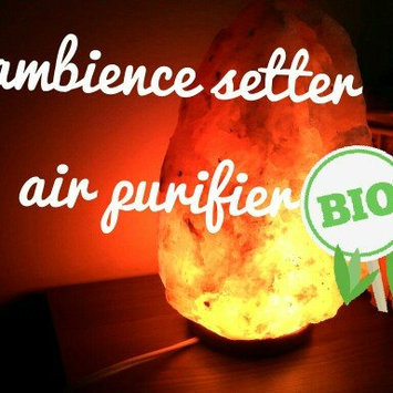 WBM # 1004 Natural Air Purifying Himalayan Salt Lamp With Neem Wood uploaded by R S.