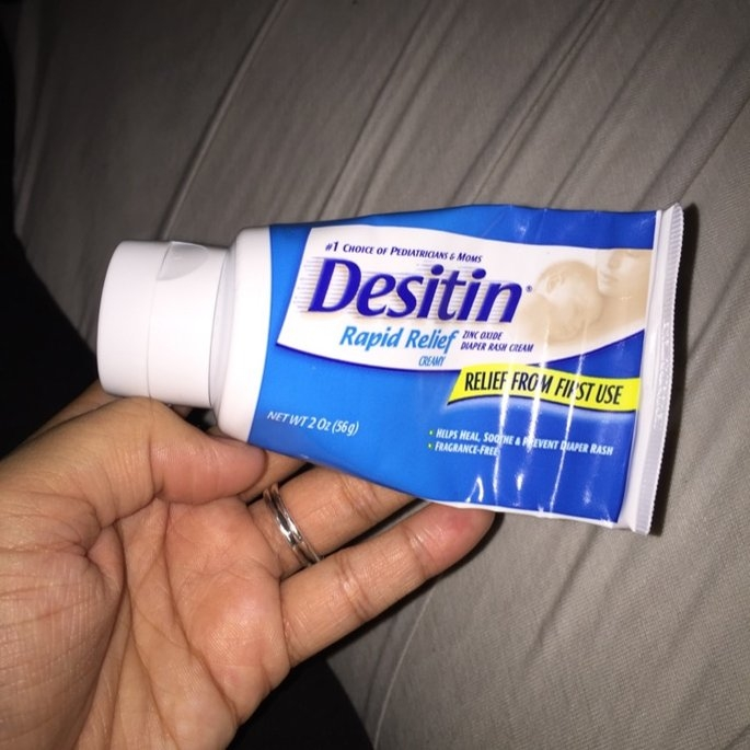Desitin Rapid Relief Diaper Rash Ointment uploaded by Victoria P.
