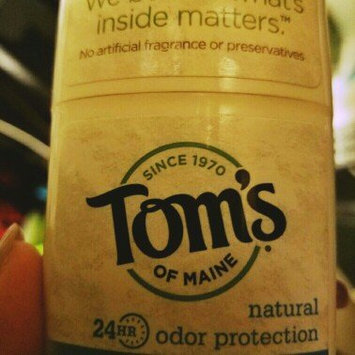 Photo of Tom's OF MAINE ANTIPERSPIRANT & DEODORANT Unscented Long Lasting Deodorant uploaded by kenia o.