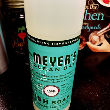Photo of Mrs. Meyer's Clean Day Basil Dish Soap uploaded by Emily R.