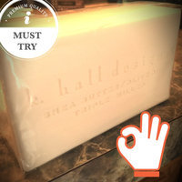 k. hall designs Shea Butter/Olive Oil Triple Milled Bar Soap uploaded by Michelle S.