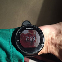 GARMIN Forerunner® 235 Black and Gray Silicone uploaded by Amy N.