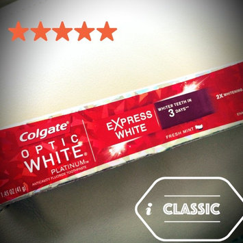 Photo of Colgate Optic White Express White Toothpaste uploaded by Sindy M.