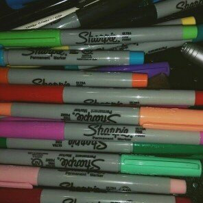 Photo of Sharpie Ultra Fine Point Permanent Markers - 12ct uploaded by Julie C.