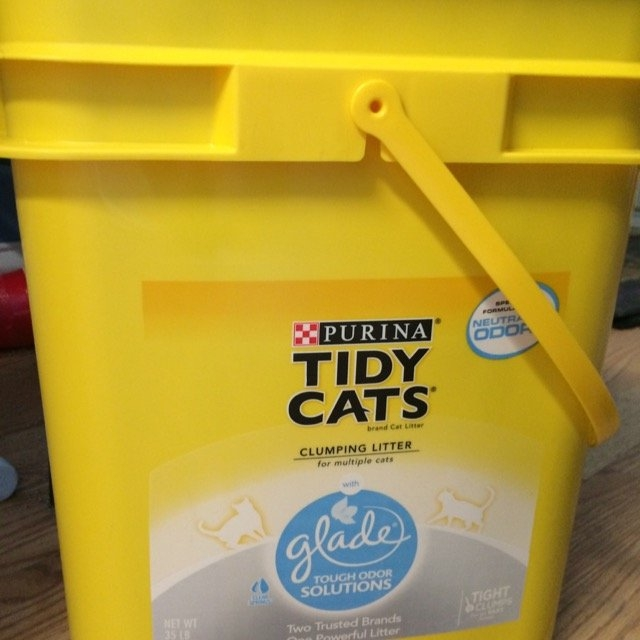Purina Tidy Cats Tidy Cats with Glade Scoop Cat Litter Pail - 35 lb uploaded by Amanda O.