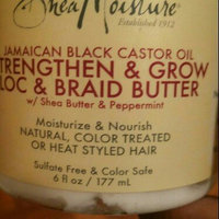 SheaMoisture Jamaican Black Castor Oil Strengthen & Grow Loc & Braid Butter uploaded by Morenike K.